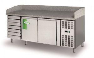 FBR2610TN - Refrigerated pizza counter - Lt 580- Without display cabinet