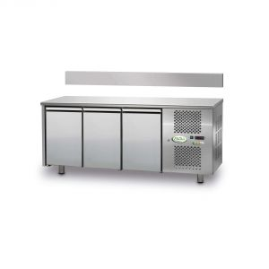 FTR3TN - Ventilated Refrigerated Table 3 doors - 0 / + 10 ° - WITHOUT LIFT