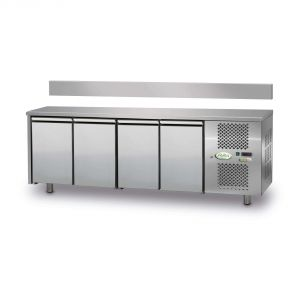 FTR4TN - 4-door Ventilated Refrigerated Table - 0 / + 10 ° - WITHOUT LIFT