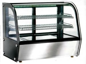VPH160 Ventilated tabletop heated showcase 88x58x67h