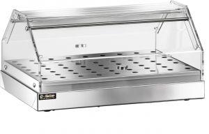 VBN 4751 Stainless steel neutral display-case 1 shelf 50x35x22h