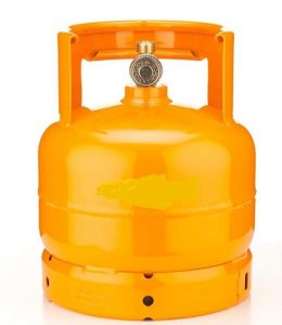 AB2 Gas bottle 2 kg empty for flambè trolleys