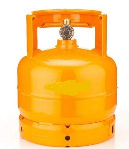 AB3 Bouteille à gas de 3 kg vide pour flambè chariots
