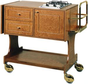 CL 2751 Flambé trolley 1 cooking range 1 Fire