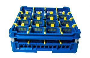 GEN-100145 Basket for washing cutlery with 16 cutlery baskets