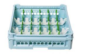 PANIER GEN-K13x6 CLASSIQUE 18 COMPARTIMENTS RECTANGULAIRES - HAUTEUR VERRE 65mm