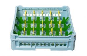 GEN-K14x6 CLASSIC BASKET 24 RECTANGULAR COMPARTMENTS - Glass height 65mm