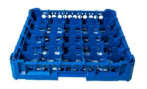 GEN-K15x5 CLASSIC BASKET 25 SQUARE COMPARTMENTS - Glass height 65mm