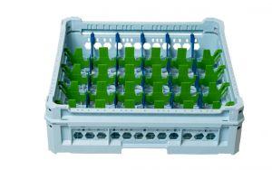 GEN-K15x6 CLASSIC BASKET 30 RECTANGULAR COMPARTMENTS - Glass height 65mm