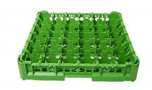 GEN-K16x6 CLASSIC BASKET 36 SQUARE COMPARTMENTS - Glass height 65mm