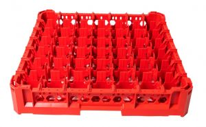 GEN-K17x7 CLASSIC BASKET 49 SQUARE COMPARTMENTS - Glass height 65mm