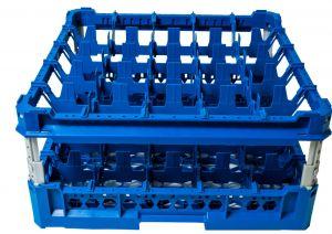 PANIER GEN-K35x5 CLASSIQUE 25 COMPARTIMENTS CARRÉS - Hauteur de tasse de 120 mm à 240 mm