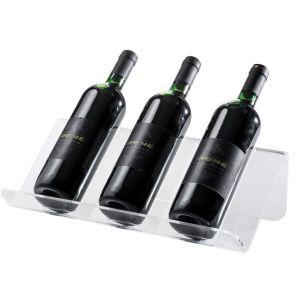 EV01501 SHOW 1 - Espositore trasparente  per bottiglie ø 8,2 cm
