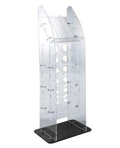 EV04808 BIG TOWER - Display da terra grande per bottiglie ø 8,2 cm
