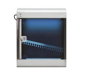 T903024 Stainless steel AISI 304 knife sterilizer with UVC rays for 12 knives