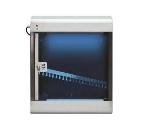 T903025 Stainless steel AISI 304 knife sterilizer with UVC rays for 20 knives