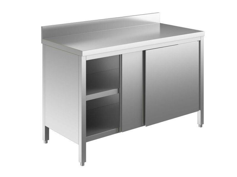 EU03301-16 tavolo armadio ECO cm 160x70x85hpiano alzatina ...