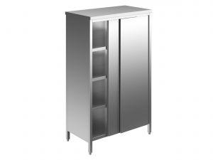 EU04308-11 armadio verticale ECO cm 110x70x180h porte scorrevoli - 3 ripiani regolabili