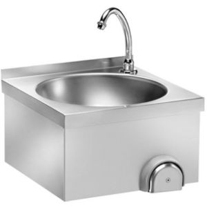 LM40  Stainless steel wash basin column