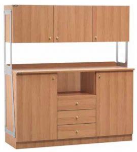 TML 3214SSPN Double meuble de service de salle haut