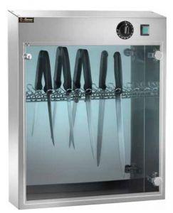 SUV 14 Armoire de sterilization UV en acier inox 14 couteaux