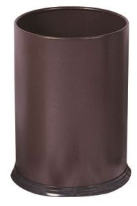 T103032 Brown steel Paper bin 12 liters