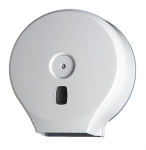 T104001 Toilet paper roll dispenser White ABS 200 m