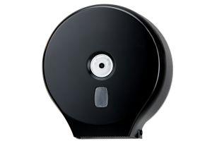 T104201 Distributore di carta igienica in rotolo ABS nero 200 metri