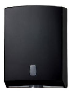 T104220 Distributore di carta asciugamani ABS nero 400 fogli