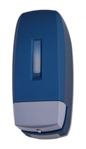 T104340 0,5 Lt liquid soap dispenser blue ABS soft-touch
