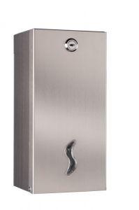 T105029 Distributore carta igienica interfogliata doppio acciaio inox AISI 430 brillante