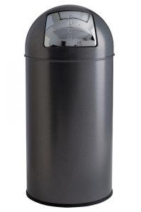 T106052 Dapple silver Push bin 40 liters