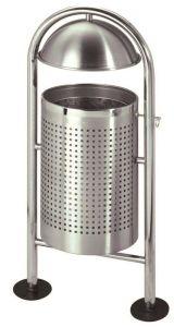 T106062 Gettacarte in acciaio inox per esterno