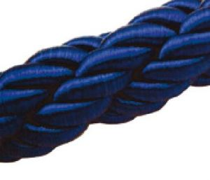 T106340 Cordon sur mesure bleue 1 metre