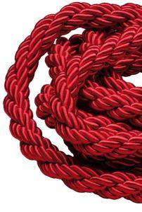 T106341 Cordon sur mesure rouge bordeaux 1 metre