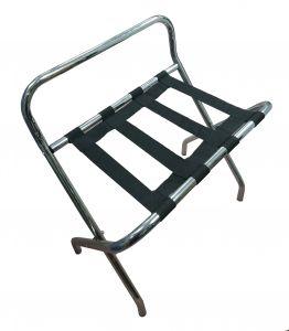 T107511 Porta valigie pieghevole con schienale