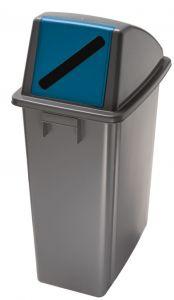 T114215 Conteneur recyclage Couvercle push