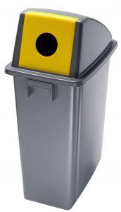 T114216 Conteneurs recyclage Couvercle con ouverture