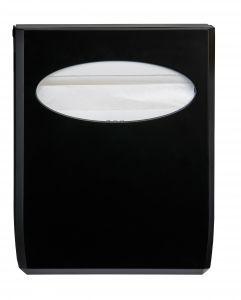 T130014 Distributore di carta copriwater ABS nero
