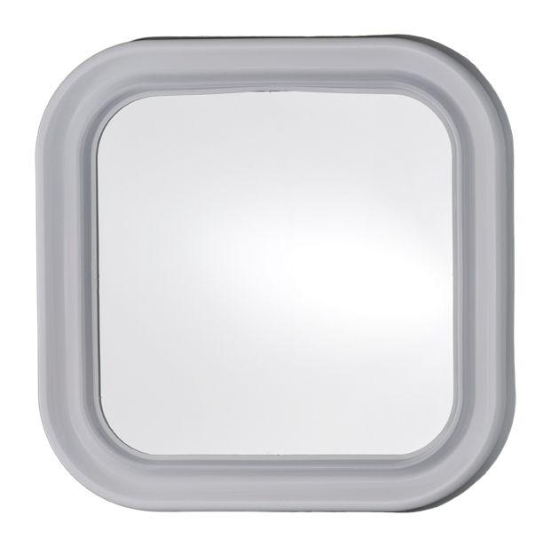 Specchio quadrato in plastica cm 46x46 - Specchio di plastica ...