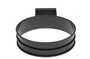 T601002 Porta sacco tondo in acciaio Grigio