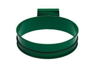 T601003 Porta sacco tondo in acciaio Verde