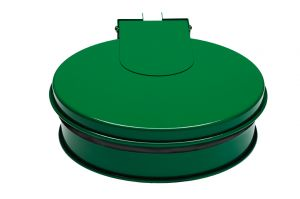 T601013 Bag holder with lid GREEN