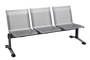 T703050 Steel Three-seat bench