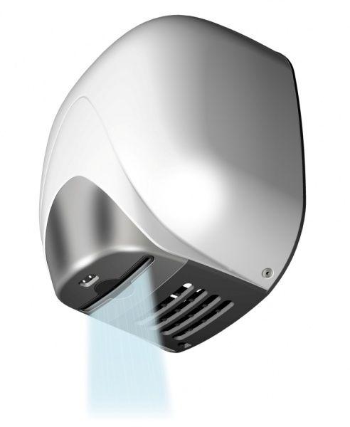 T704335 Asciugamani a fotocellula alte prestazioni Alluminio bianco LAMA con resistenza