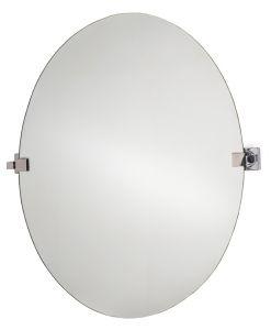 T710105 Specchio in vetro ovale basculante