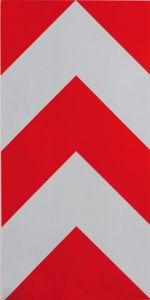 T766941 Profile droit réfléchissant PVC adhésif pour conteneurs à déchets