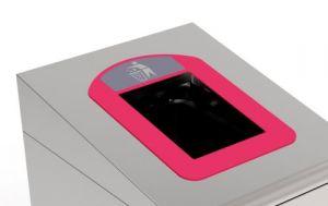 T789037 Cadre rouge pour conteneur collecte séparée des déchets T789020-T789050