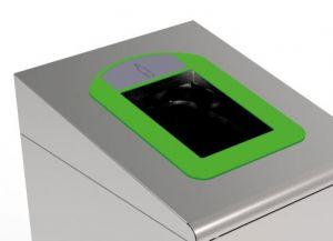 T789038 Cadre vert pour conteneur collecte séparée des déchets T789020-T789050