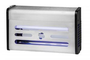 T903004 Sterminatore d'insetti Insettivor Neon acciaio inox 30 W con carta moschicida e neon